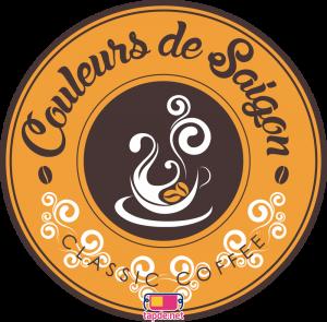 Tạp dề Café Couleurs de Cafe