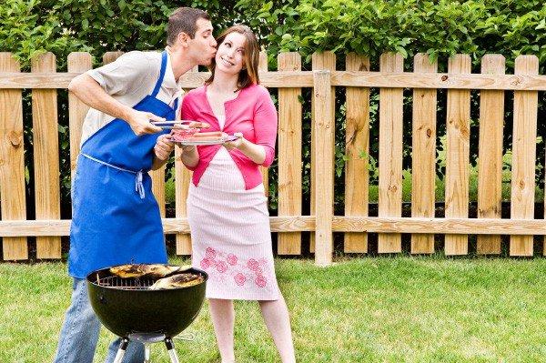 Chồng mặc tạp dề, vợ hạnh phúc!