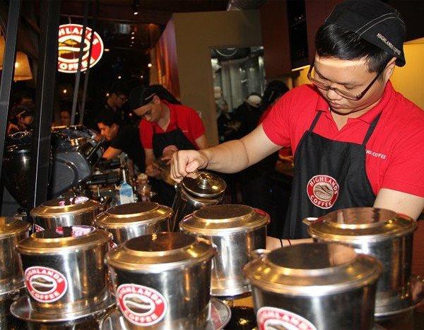 Tạp dề pha chế Coffee Highlands