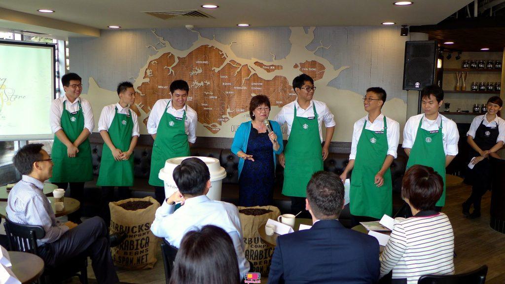 Tạp dề Cafe Starbucks