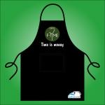 Tạp dề pha chế Cafe F-Time
