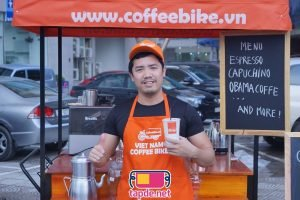 Tạp dề Coffee Bike Việt Nam