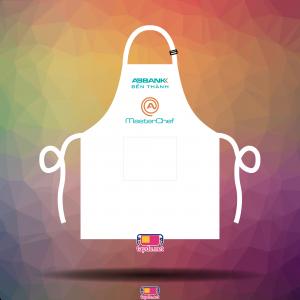Tạp dề Master Chef màu trắng ABBank